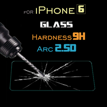 Phones Telecommunications Mobile Phone Accessories Parts Screen Protectors for apple iphone6 Tempered Glass
