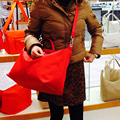 2016 Women bag Nylon bags genuine leather women famous brands Handbags beach fold Tote Shopping Bags