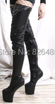 thigh high boots without heel cr boot