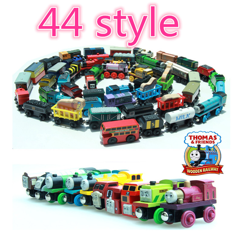 1pcs wooden railway thomas and friends 1:55 slot car piko trenes rail road railway train toy order tracking toys for children(China (Mainland))