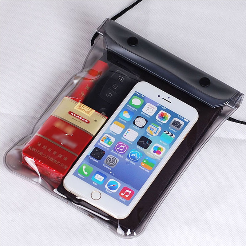 Quality PVC Durable Waterproof Phone Cases Underwater Phone Bag Pouch Outdoor CN<br><br>Aliexpress