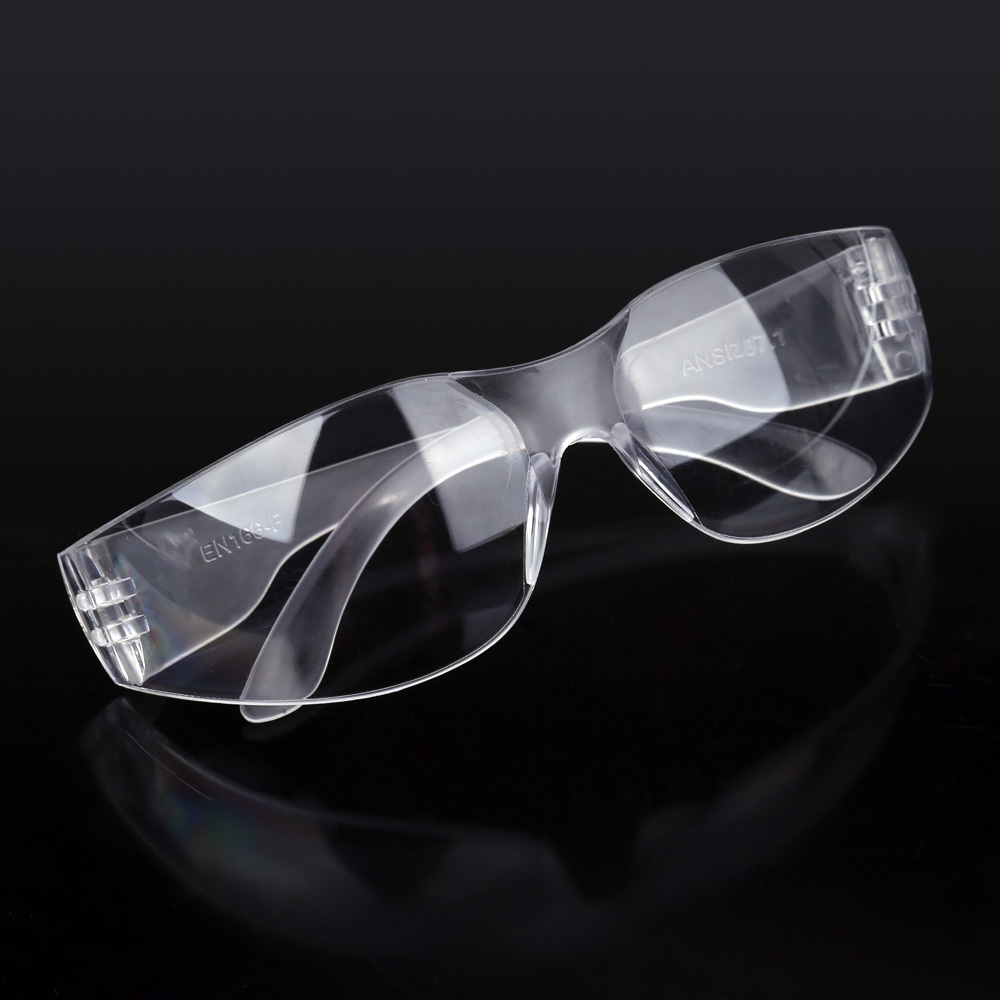 New Workplace Safety Supplies Safety Goggles Eyes Protection Clear Protective Glasses Wind and Dust Anti-fog Medical Use(China (Mainland))