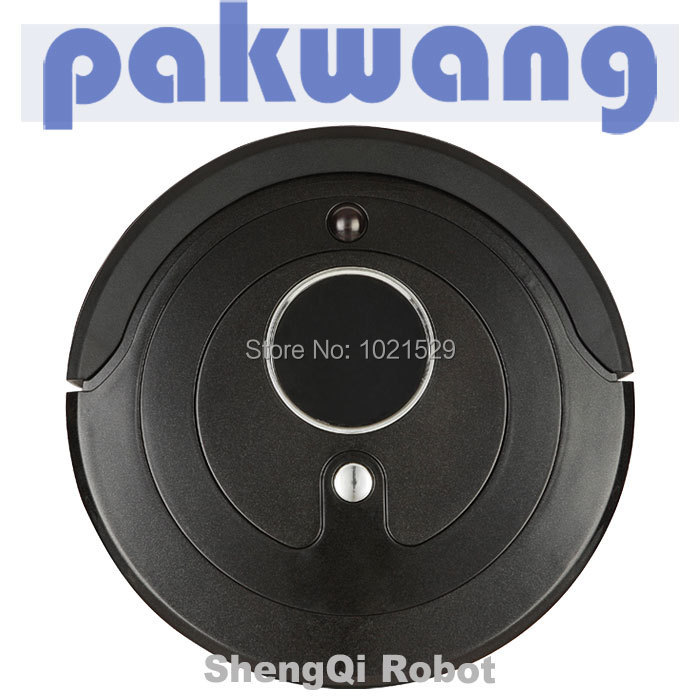 Robotic Vacuum Cleaner with LED Light, Multiple Modes, Cliff Avoidance Sensor(China (Mainland))