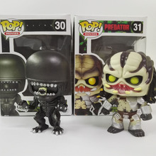 Funko Pop Movies Predator Alien 30# High quality Vinyl Action Figure Model PVC Cute Collection Toys Decoration Christmas Gifts(China (Mainland))