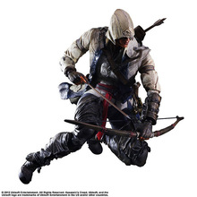 PLAY ARTS Assassins Creed 4 3 Black Flag Edward James Kenway Anime Game Figurine PVC Action Figure Model Toy 27cm Brinquedos