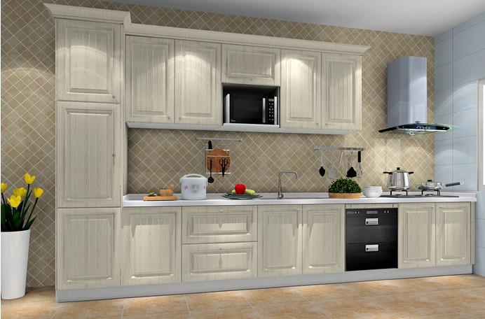 Cerise bois massif armoires de cuisine avec des prix pas for Armoire de cuisine pas cher