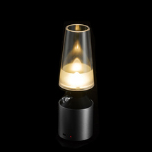 Creative Blowing Control Lamp USB Rechargeable LED Kerosene Lamp Retro&Modern Night Light Adjustable induction lamp(China (Mainland))