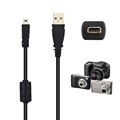 59 Inche 1 5M 8 Pin Camera USB Data Cable Charge Transfer For Olympus Pentaxist FinePix