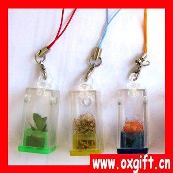 Valentine's Day gift,#2 Baby tree Cell Phone Strap,Portable farm,mini farm,mini garden,plant pet, mobile phone pendant