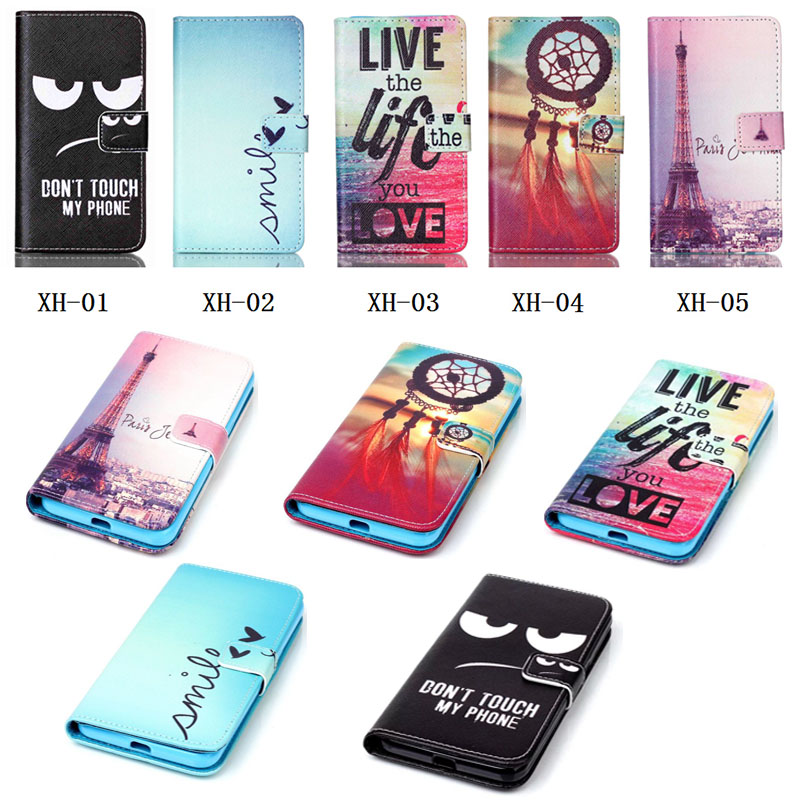 For Samsung Galaxy S2 i9100 SII Cases Art Cartoon Painted Stand Holder With Card Slots PU Leather Case Protector Cover(China (Mainland))
