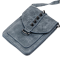 Universal Leather Cell Phone Bag Shoulder Pocket Wallet Pouch Case Neck Strap For LG For Samaung