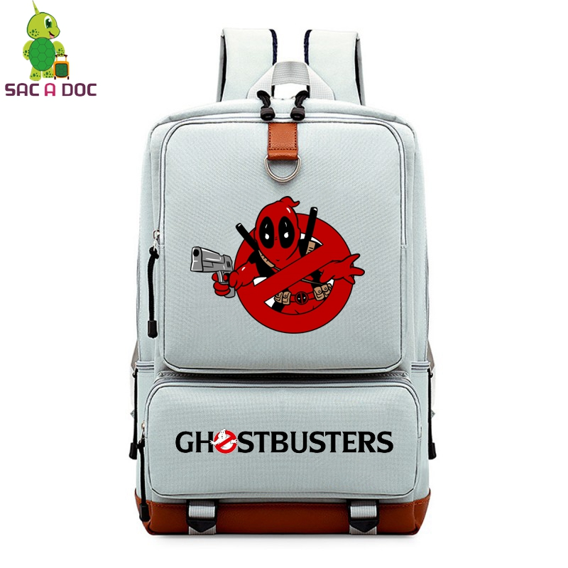 776289fc1018 Detail Feedback Questions about Ghostbusters Deadpool Backpack ...