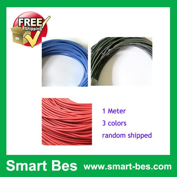 Free shipping ~Smart Bes!! F05329 1 Meter 20AWG Silicone Wire SR Wire silica gel Cable Wire (100/0.08 OD:1.8) 3 Color Optional<br><br>Aliexpress