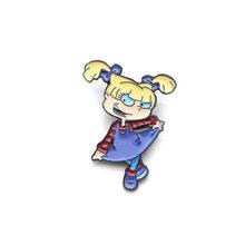 L3066 Anime Figura Dinosauro Dello Smalto Spille per Zaino/Borsa/Sacchetto Jeans Vestiti Distintivo Risvolto Spille Brooch Dei Monili 1 Pcs(China)