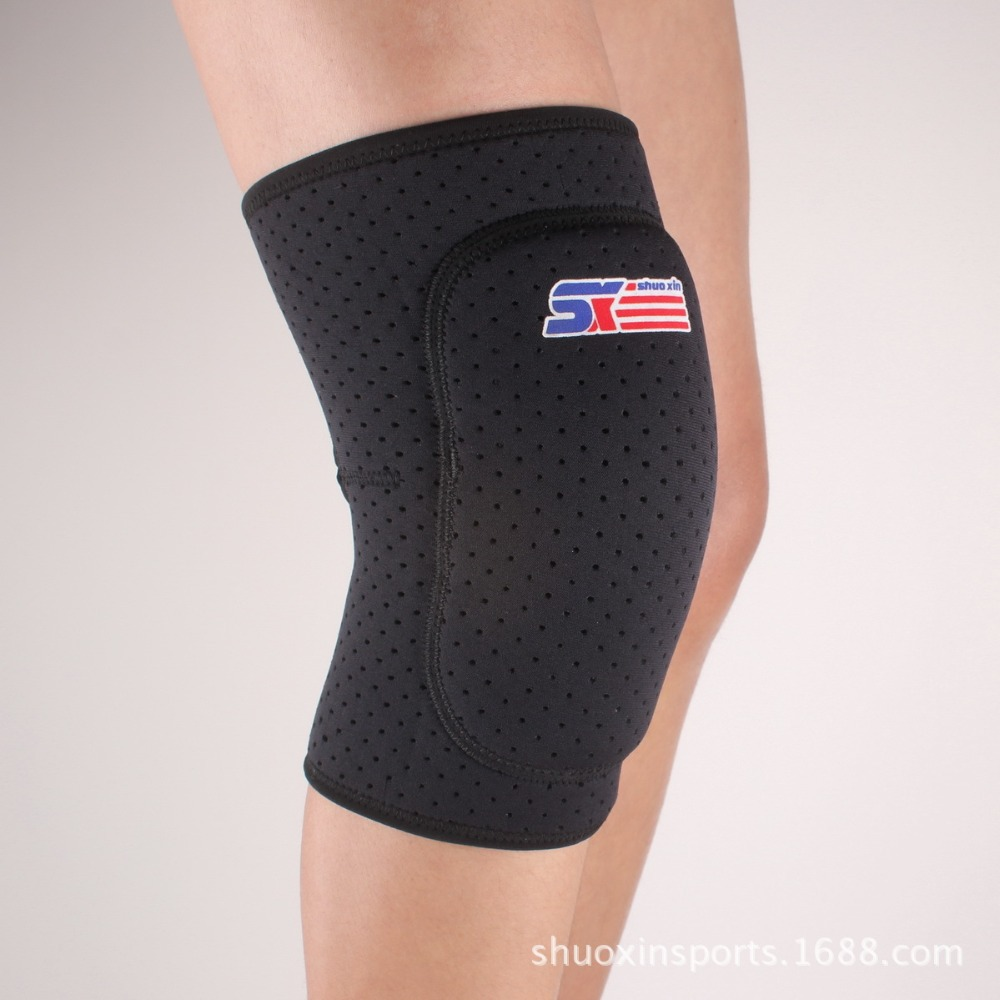 2015 Hot Sell Breathable Elastic Knee Pads Kneecap Knee wraps Protector Skating Skiing Basketball Running Powerliftingn Kneepad(China (Mainland))