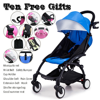Yoya four wheel baby stroller light folding umbrella car bb baby stroller yuyu babyzen yuyu(China (Mainland))