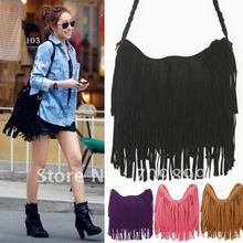 Hot Sale European American Style Star Fashion Tassels Bags Hobo Clutch Purses Handbags women Shoulder Bags