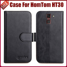 Buy Hot Sale! HomTom HT30 Case New Arrival 6 Colors High Flip Leather Protective Phone Cover HomTom HT30 Case for $5.82 in AliExpress store