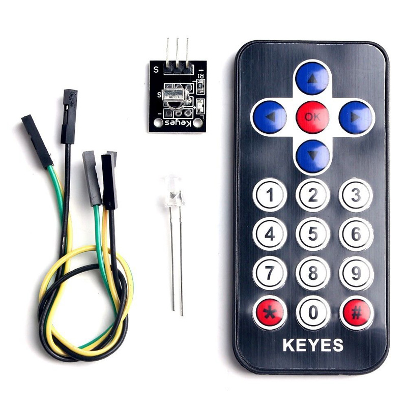 IR Wireless Remote Control Infrared Module Kits Suit For Arduino AVR PIC Gadgets(China (Mainland))