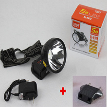 Rechargeable LED Headlamp with Lithium Battery