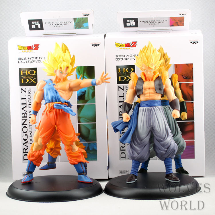 2015 Anime 2Pcs Free Shipping 20CM Dragon Ball Z Super Saint Seiya Goku Son Gokou Boxed PVC Action Figure Model Collection Toy <br><br>Aliexpress