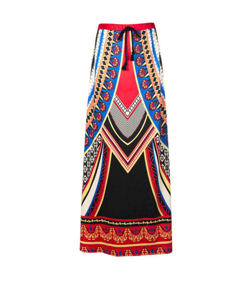 Brand Special Sales New 2017 Summer Casual Skirts Cheap Fashion Bohemian Skirts Ethnic Style Clothing Thai Style Skirt Wholesale