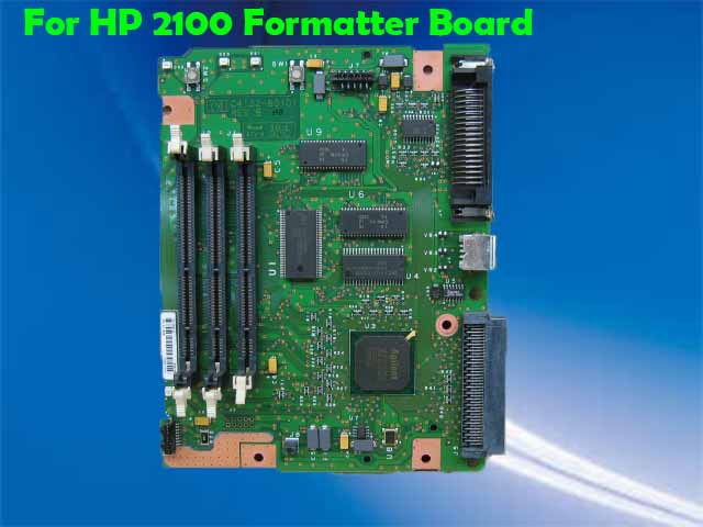 Free shipping 100% test formatter board for HP LaserJet Printer 2100 C4132-60001.(China (Mainland))