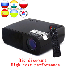 Russian Ukraine India.etc people's favorite Projector 2016 BL20 LCD LED Projector Home Theater Full HD proyector 2600lms beamer(China (Mainland))