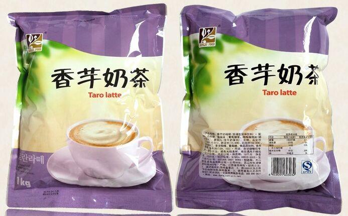 1000g tea powder banana, strawberry, melon, flavor, taro, Chocolate Milk Tea 7 special Japanese Matcha coin tea machine tea shop