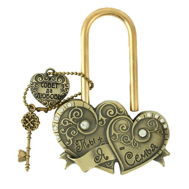 Свадебная церемония замок подарок ремесло сердце Замок Свадебные Подарки Брак Сувенир ...