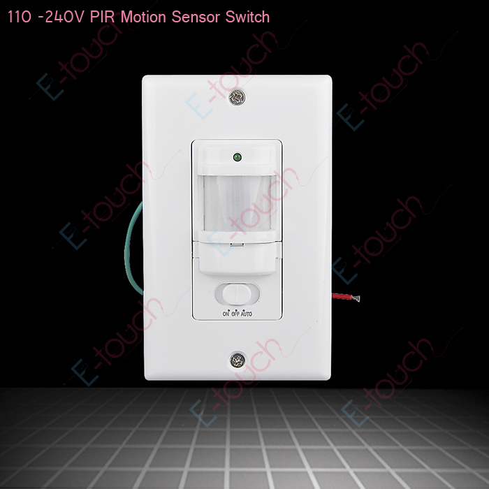 Luxform High Quality Wall Light With Pir Sensor : Free shipping High quality Wall Mount Motion Sensor Automatic PIR Infrared Sensor Light Switch ...
