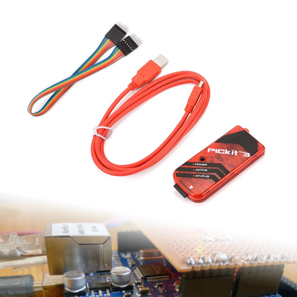 Microchip PICkit3 PIC KIT3 In-Circuit Debugger/Programmer PIC dsPIC PIC32 MCU TE465(China (Mainland))