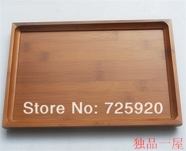 Bamboo tea tray fashion  furniture wholesale and retail free shipping37x26cm