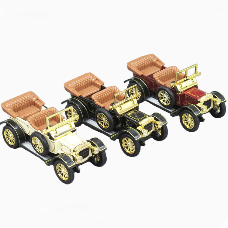 1:32 Classic Convertible classic car alloy car model toy back to force open the door of sound and light free shipping(China (Mainland))