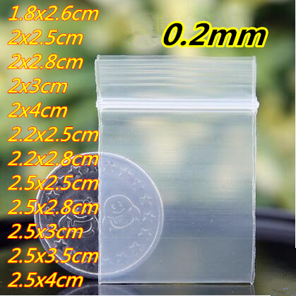 40small size Self Sealing Zip Lock Bags/ jewelry bags/ Plastic Packaging bags - Ava Liang's Packing Store store