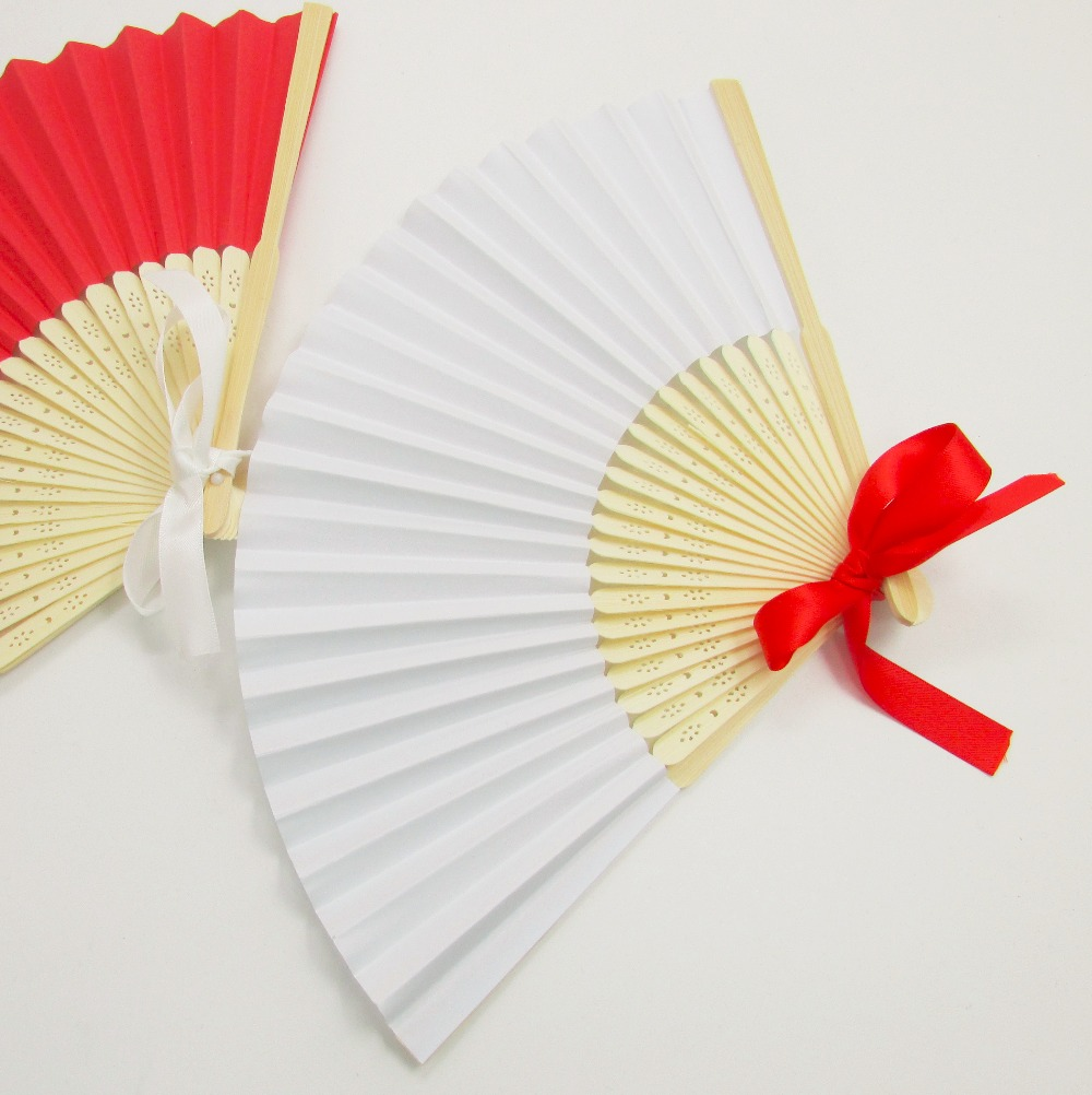 white paper fans Buy fashioncraft, wedding party bridal shower favors, white paper fans, set of 100: event & party supplies - amazoncom free delivery possible on eligible purchases.