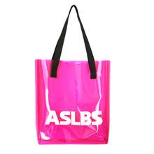 Summer Clear Plastic Waterproof Beach Bags Candy Color PVC Handbags Women Shopping Tote bolsas