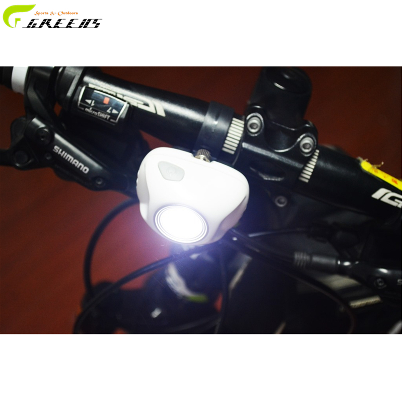Cycling Bike Super Bright LED Front Torch Headlight Light Lamp 2-Modes Waterproof Black/white Bicycle Light/LED bike lights(China (Mainland))