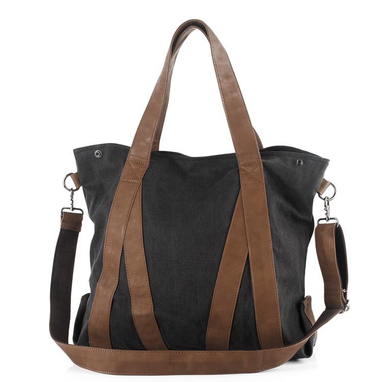 Cotton canvas bag female one shoulder cross-body big bag women's handbag messenger bag shopping bag(China (Mainland))