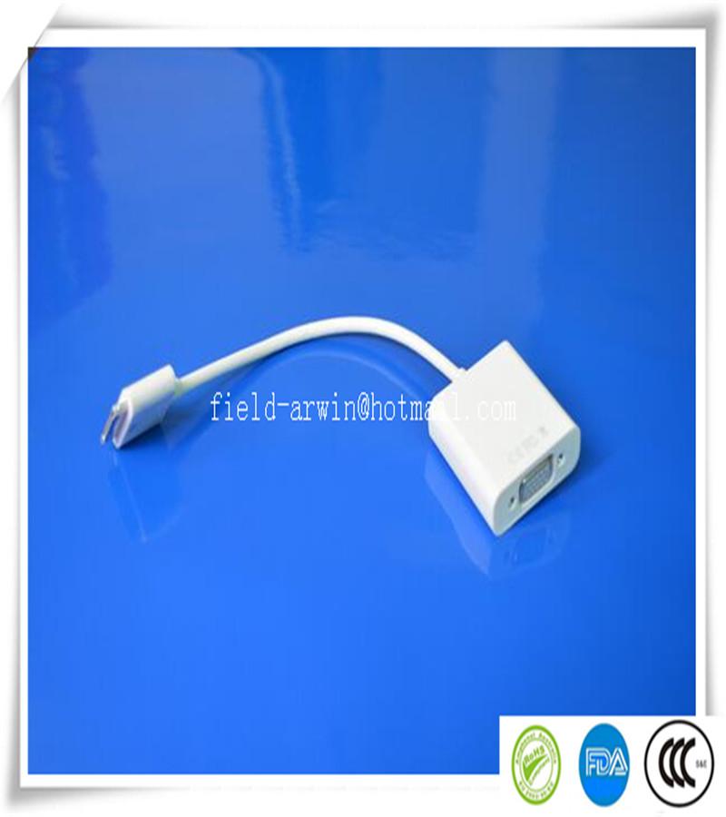 2016 hot sale hdmi vga adaptor white 10pcs/lot 6ft 30 Pin to HDTV HDMI Cable Digital AV Adaptor for Apple iPad 2 3 iPhone 4 4S(China (Mainland))