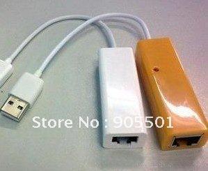 50 pcs/lot USB 2.0 to RJ45 Ethernet Network Card