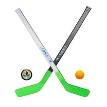 4pcs/sets Kids Child Winter Ice Hockey Stick Training Tools Plastic 2xSticks 2xBall Winter Sports Toy fits for 4-9years(China (Mainland))