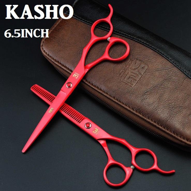 Kasho профессиональный парикмахерские ножницы стрижки парикмахера tesoura