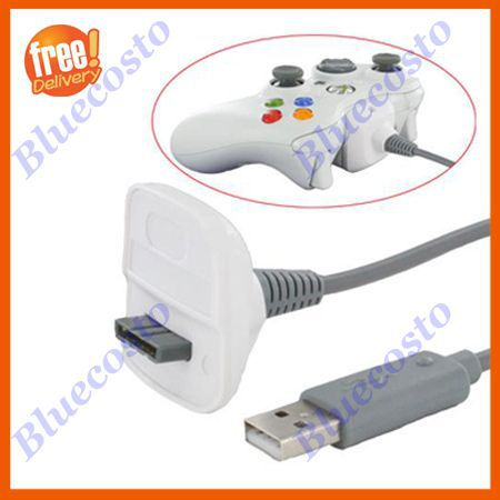 Retail generic USB Charger Cable,Charging Line For Xbox 360 Controller Wholesale(Hong Kong)