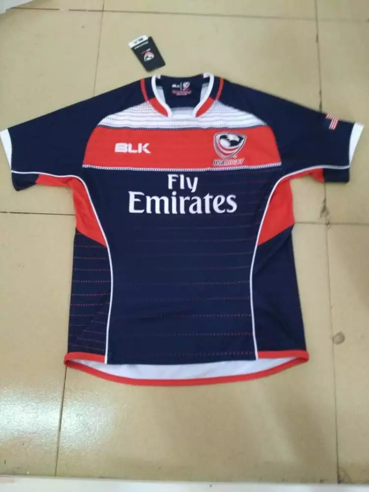 The United States in 2016 New Zealand rugby team naval laboratory S - XXXL super football clothes