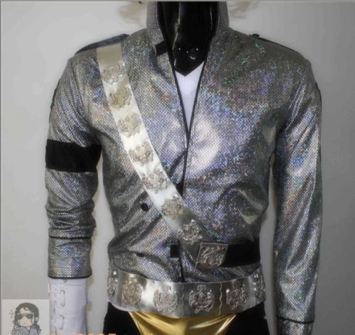 New! MJ Halloween MICHAEL JACKSON JAM SASH(aiguillette)&BELT SET MJ COSTUME - Professional MJ COSTUME(China (Mainland))