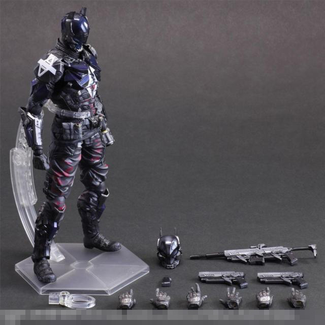 27cm Batman Arkham Knight Detective Comics Movies Animation Action Figure PVC Model Toys Dolls Gift Play Arts PA(China (Mainland))