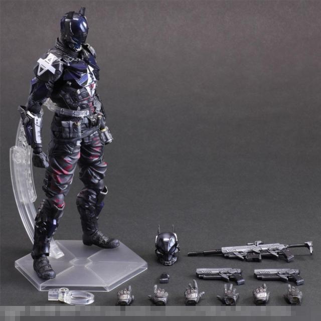 27cm Batman Arkham Knight Detective Comics Movies Animation Action Figure PVC Model Toys Dolls Gift Play Arts PA(China (Mainland))