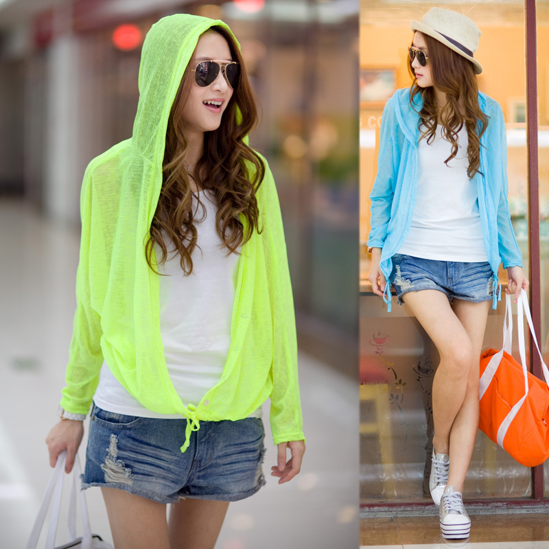 Buy 2014 women 39 s spring loose ultra thin sun protection clothing outerwear - Protect clothes colors washing ...