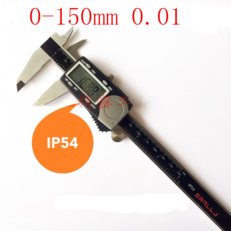 Japan SANLIN Micrometers digital caliper 150 mm * 0.01 electronic vernier caliper IP54 Waterproof Digital Vernier Caliper(China (Mainland))